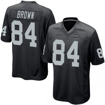 Youth Antonio Brown Oakland Raiders Nike Game Team Color Jersey - Black